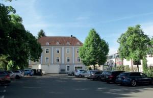 Heinrich-Böll-Platz Blick nach Süden